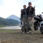 In moto per il Giappone (video)